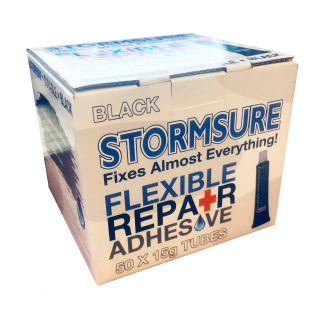 Stormsure Flexible Repair Adhesive 15g Black (Box of 50)