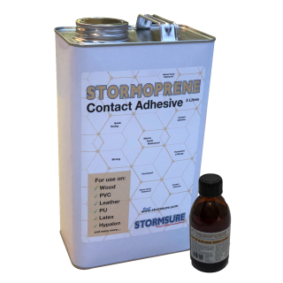 stormsure stormoprene 2 part contact adhesive 5 litre tin wholesale industrial manufacturing