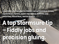 A top Stormsure tip – Fiddly jobs and precision gluing